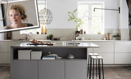 Daniella Wittes nye kjøkken, sammen med mija kinning – det ferdige resultatet!