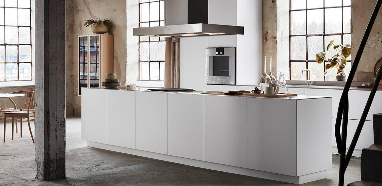 NYHET S45 – Unik kjøkkenøy med minimalistisk og rent uttrykk!