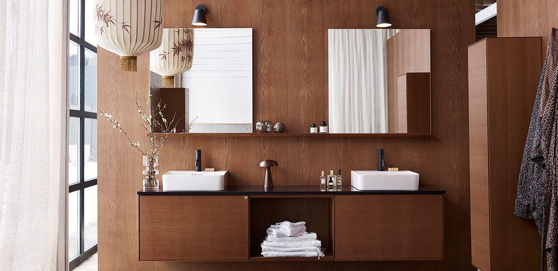 Vakre baderomsmøbler i tre – Vanity